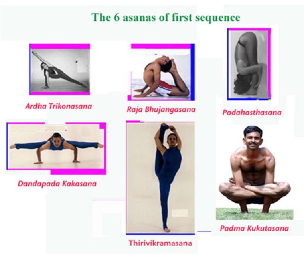 Асаны для выступления на международных соревнованиях по йоге