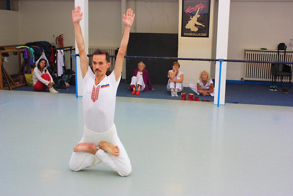 XXV Чемпионат мира по йога-спорту - выступление Александра Михалева