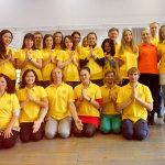 Школа инструкторов йоги Федерации йоги России, осенний выпуск 2014