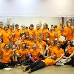 Школа инструкторов йоги Федерации йоги России, выпуск очного курса инструкторов хатха-йоги 2014