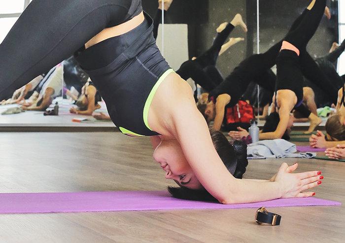 Фото пилатес зала в Школе йоги Федерации йоги России