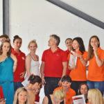 Фото – выпуск группы 61, Школа инструкторов йоги Федерации йоги России