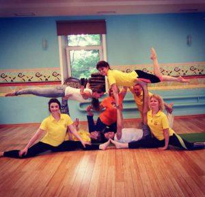 Детская йога Федерации йоги России