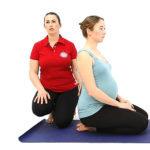 Йога для беременных: поясница