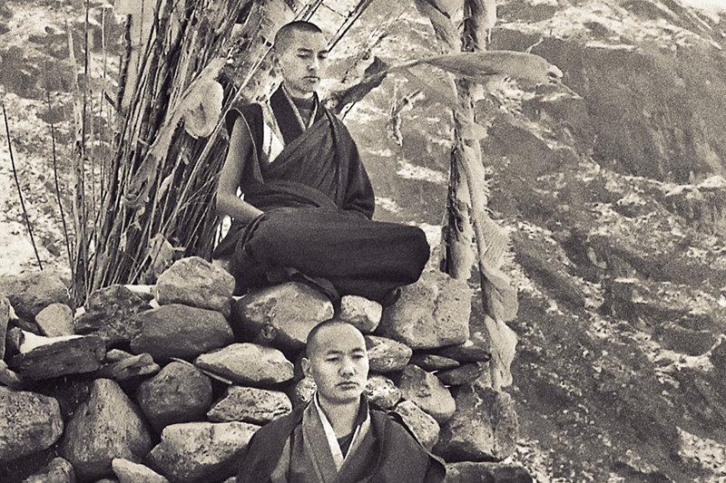 Лама Сопа Ринпоче и Лама Йеше, 1969
