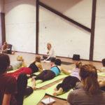 Педагогические приемы построения занятий – лекция Марины Орловой в Федерации йоги России