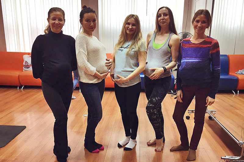 Йога для беременных в Школе инструкторов йоги Федерации йоги России