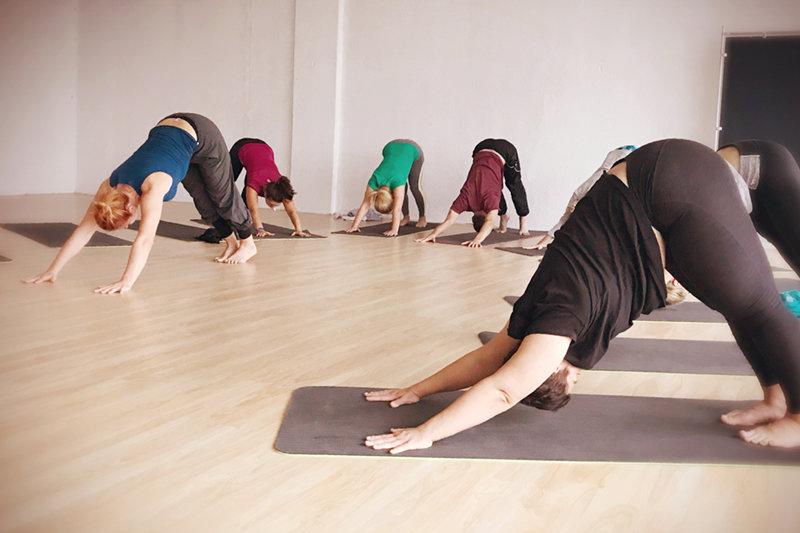 Выпускной в Школе инструкторов йоги Федерации йоги России