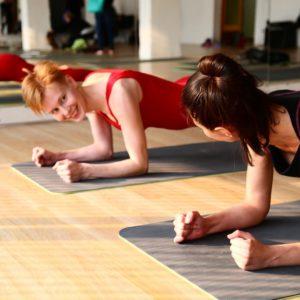 Коврик для йоги в Школе инструкторов йоги Федерации йоги России