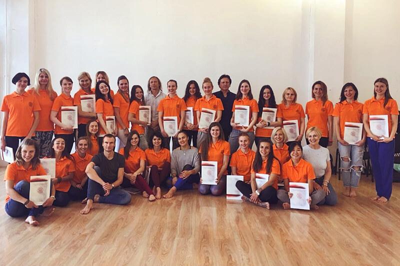 Курс хатха-йоги в Школе инструкторов йоги Федерации йоги России