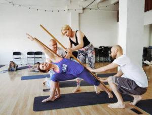 Отстройка асан с Ольгой Полушиной в Школе инструкторов йоги Федерации йоги России