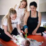 Открытые занятия курсов Перинатальной и Детской йоги