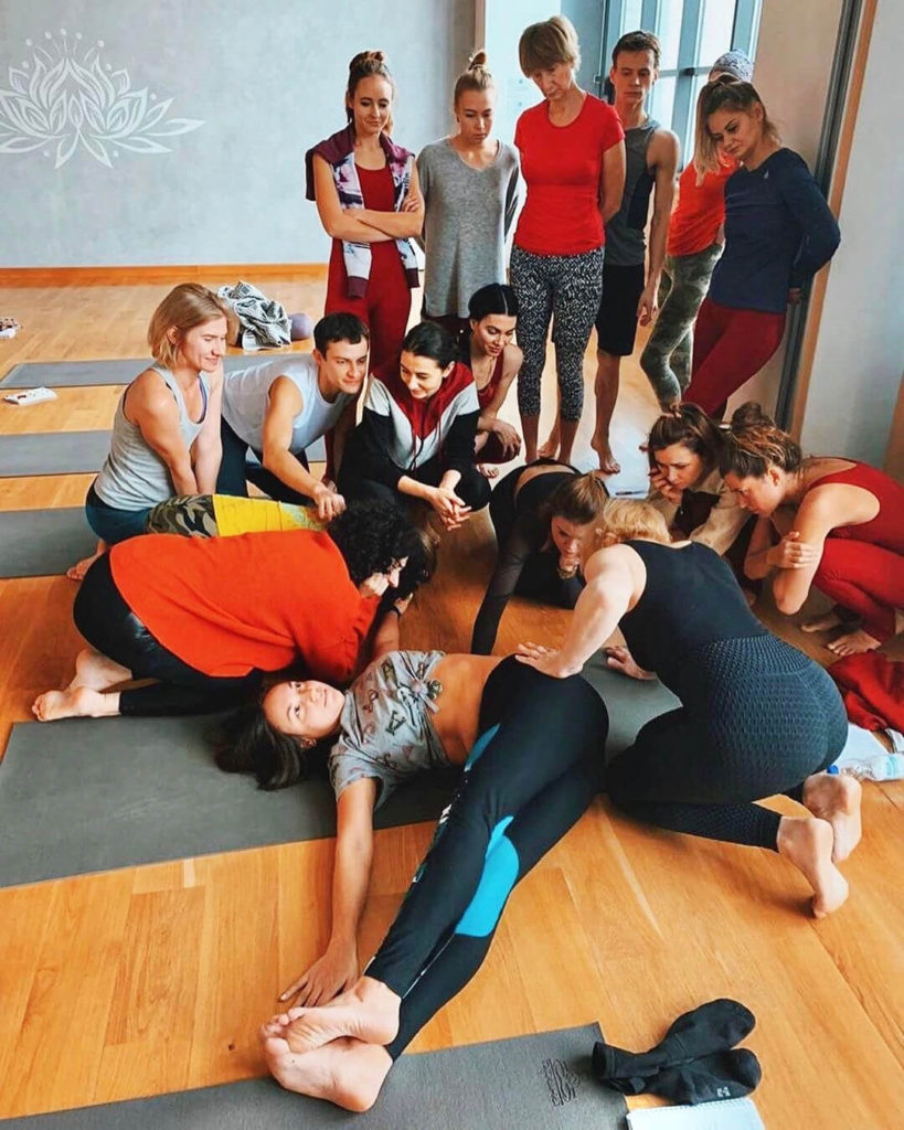Йога-семинар Отстройка асан и построение комплексов